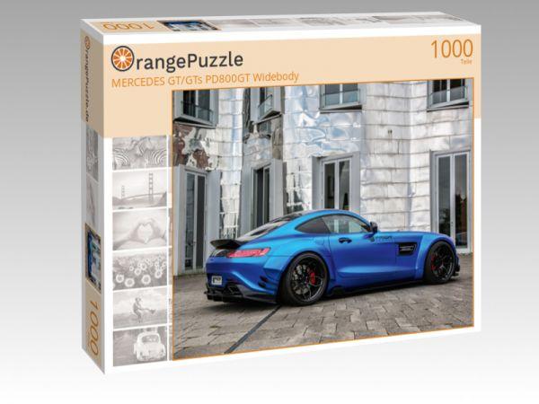 """Puzzle Motiv """"MERCEDES GT/GTs PD800GT Widebody"""" - Puzzle-Schachtel zu 1000 Teile Puzzle"""