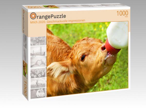 "Puzzle Motiv ""Milch 2020. Geschmackvolle Impressionen"" - Puzzle-Schachtel zu 1000 Teile Puzzle"