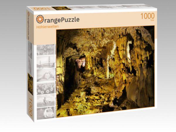 "Puzzle Motiv ""Höhlenwelten"" - Puzzle-Schachtel zu 1000 Teile Puzzle"