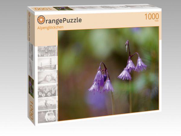 "Puzzle Motiv ""Alpenglöckchen"" - Puzzle-Schachtel zu 1000 Teile Puzzle"