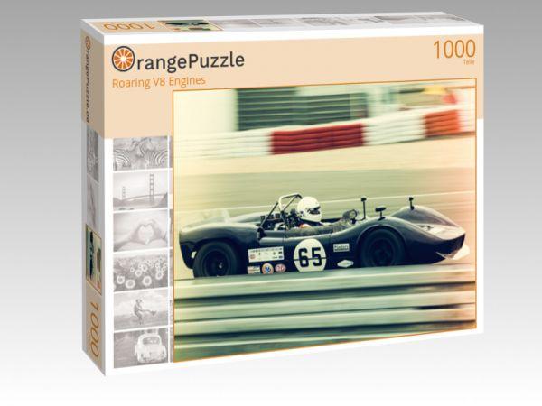 """Puzzle Motiv """"Roaring V8 Engines"""" - Puzzle-Schachtel zu 1000 Teile Puzzle"""