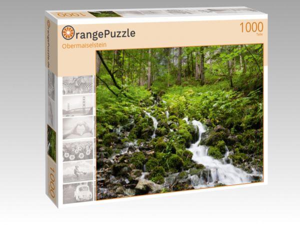 """Puzzle Motiv """"Obermaiselstein"""" - Puzzle-Schachtel zu 1000 Teile Puzzle"""