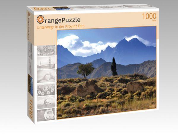 """Puzzle Motiv """"Unterwegs in der Provinz Fars"""" - Puzzle-Schachtel zu 1000 Teile Puzzle"""