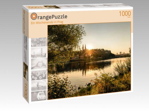 """Puzzle Motiv """"Ein Wochenende in Prag"""" - Puzzle-Schachtel zu 1000 Teile Puzzle"""