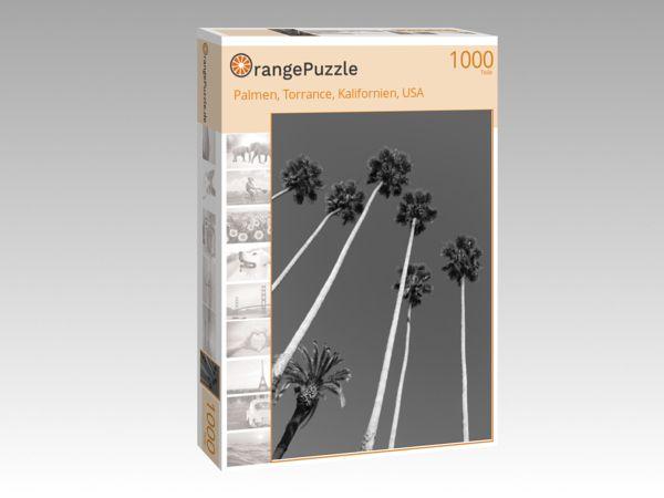 "Puzzle Motiv ""Palmen, Torrance, Kalifornien, USA"" - Puzzle-Schachtel zu 1000 Teile Puzzle"