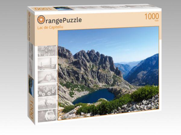 """Puzzle Motiv """"Lac de Capitellu"""" - Puzzle-Schachtel zu 1000 Teile Puzzle"""