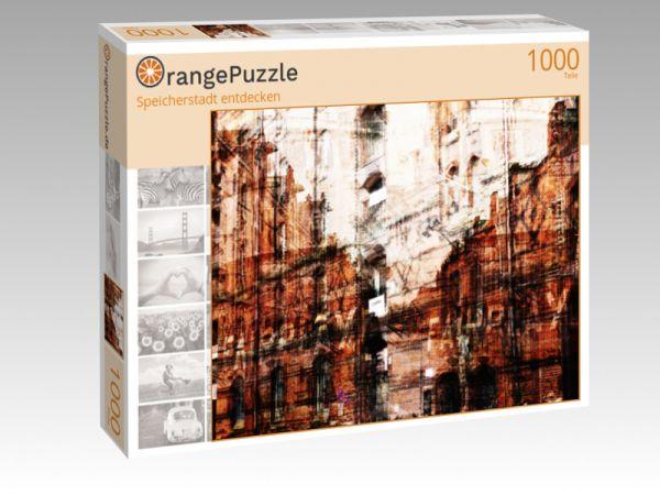 """Puzzle Motiv """"Speicherstadt entdecken"""" - Puzzle-Schachtel zu 1000 Teile Puzzle"""