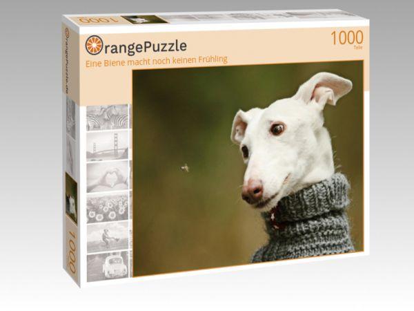 """Puzzle Motiv """"Eine Biene macht noch keinen Frühling"""" - Puzzle-Schachtel zu 1000 Teile Puzzle"""