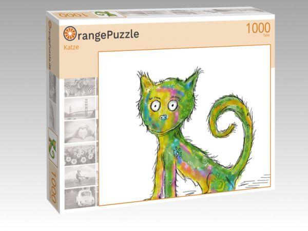 """Puzzle Motiv """"Katze"""" - Puzzle-Schachtel zu 1000 Teile Puzzle"""