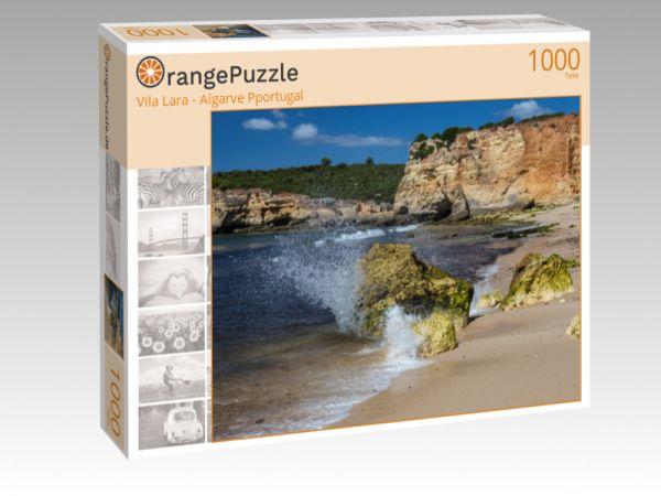 """Puzzle Motiv """"Vila Lara - Algarve Pportugal"""" - Puzzle-Schachtel zu 1000 Teile Puzzle"""