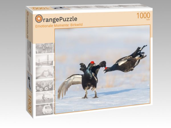 "Puzzle Motiv ""Emotionale Momente: Birkwild"" - Puzzle-Schachtel zu 1000 Teile Puzzle"