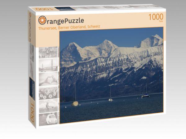 """Puzzle Motiv """"Thunersee, Berner Oberland, Schweiz"""" - Puzzle-Schachtel zu 1000 Teile Puzzle"""