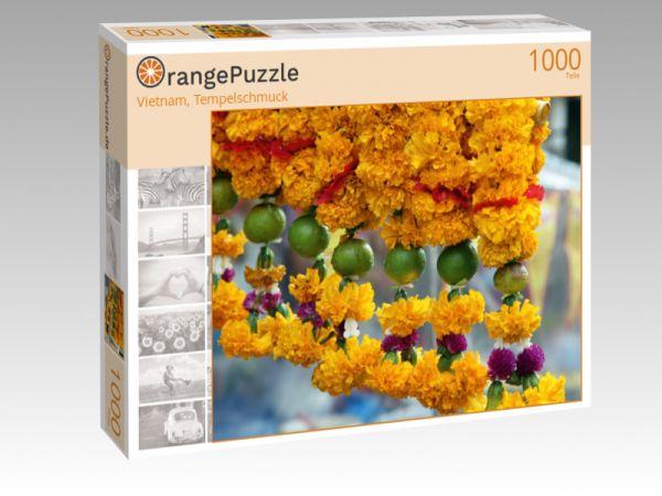 """Puzzle Motiv """"Vietnam, Tempelschmuck"""" - Puzzle-Schachtel zu 1000 Teile Puzzle"""