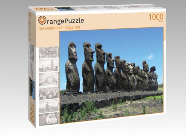 """Puzzle Motiv """"Die Osterinsel - Rapa Nui"""" - Puzzle-Schachtel zu 1000 Teile Puzzle"""