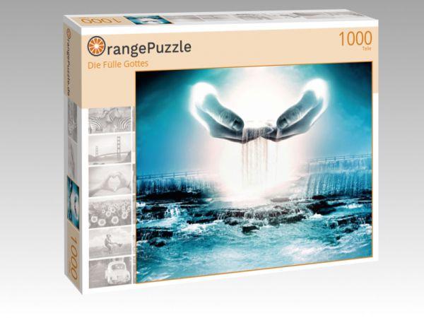 """Puzzle Motiv """"Die Fülle Gottes"""" - Puzzle-Schachtel zu 1000 Teile Puzzle"""