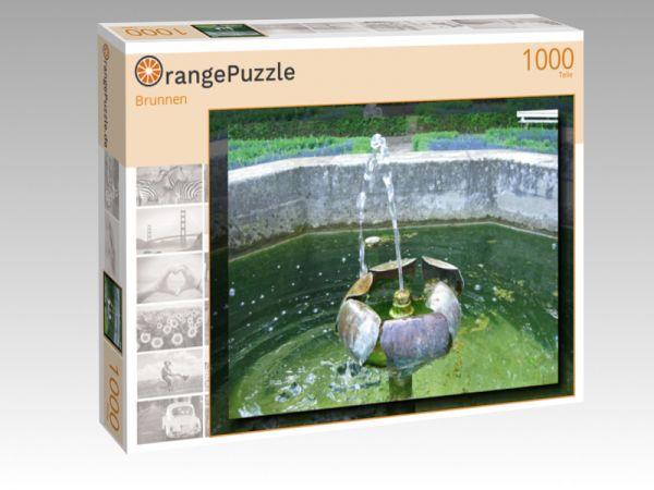"""Puzzle Motiv """"Brunnen"""" - Puzzle-Schachtel zu 1000 Teile Puzzle"""