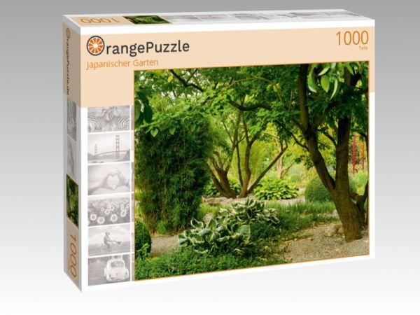 """Puzzle Motiv """"Japanischer Garten"""" - Puzzle-Schachtel zu 1000 Teile Puzzle"""