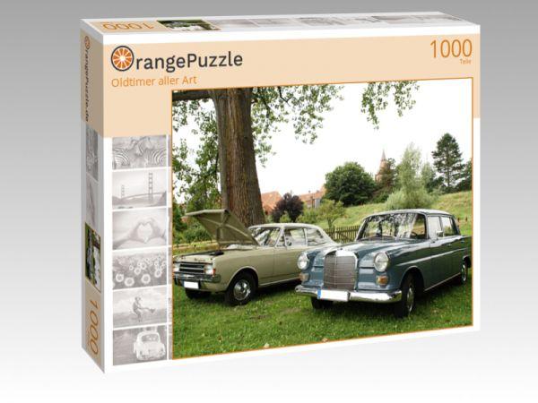 """Puzzle Motiv """"Oldtimer aller Art"""" - Puzzle-Schachtel zu 1000 Teile Puzzle"""
