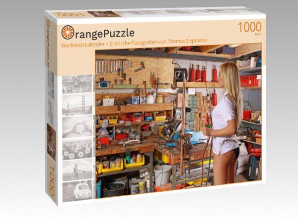 """Puzzle Motiv """"Werkstattkalender – Erotische Fotografien von Thomas Siepmann"""" - Puzzle-Schachtel zu 1000 Teile Puzzle"""
