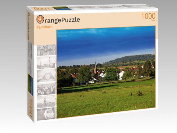 """Puzzle Motiv """"Palmbach"""" - Puzzle-Schachtel zu 1000 Teile Puzzle"""