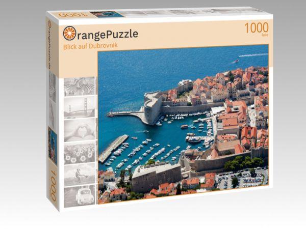 """Puzzle Motiv """"Blick auf Dubrovnik"""" - Puzzle-Schachtel zu 1000 Teile Puzzle"""