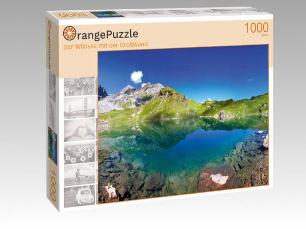 """Puzzle Motiv """"Der Wildsee mit der Großwand"""" - Puzzle-Schachtel zu 1000 Teile Puzzle"""