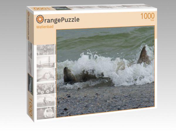 """Puzzle Motiv """"Wellenbad"""" - Puzzle-Schachtel zu 1000 Teile Puzzle"""