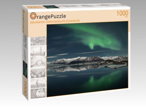 """Puzzle Motiv """"Jökulsarlon Gletscherbucht (Südisland)"""" - Puzzle-Schachtel zu 1000 Teile Puzzle"""