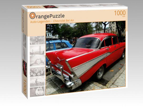 """Puzzle Motiv """""""" Auto-Legenden -  Chevrolet Bel Air"""""""" - Puzzle-Schachtel zu 1000 Teile Puzzle"""
