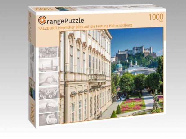 """Puzzle Motiv """"SALZBURG Herrlicher Blick auf die Festung Hohensalzburg"""" - Puzzle-Schachtel zu 1000 Teile Puzzle"""