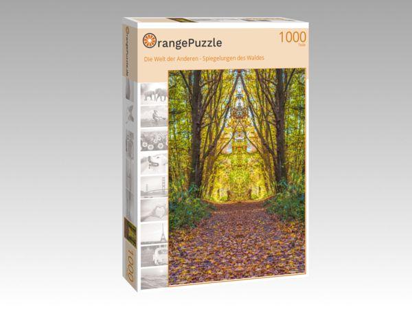 """Puzzle Motiv """"Die Welt der Anderen - Spiegelungen des Waldes"""" - Puzzle-Schachtel zu 1000 Teile Puzzle"""