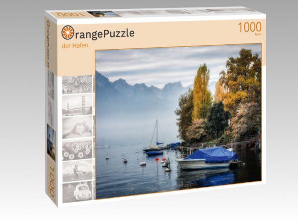 """Puzzle Motiv """"der Hafen"""" - Puzzle-Schachtel zu 1000 Teile Puzzle"""
