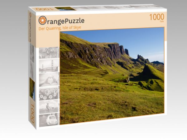 "Puzzle Motiv ""Der Quairing, Isle of Skye"" - Puzzle-Schachtel zu 1000 Teile Puzzle"