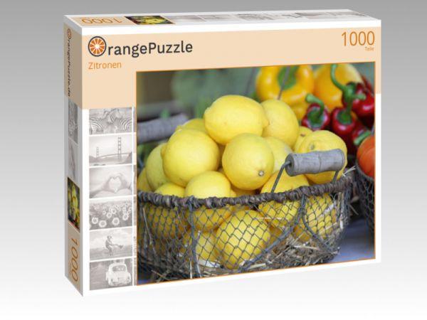 """Puzzle Motiv """"Zitronen"""" - Puzzle-Schachtel zu 1000 Teile Puzzle"""
