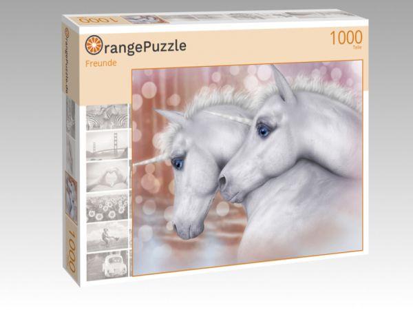 """Puzzle Motiv """"Freunde"""" - Puzzle-Schachtel zu 1000 Teile Puzzle"""