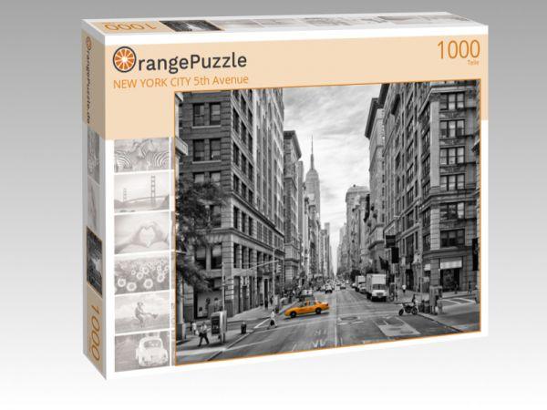 """Puzzle Motiv """"NEW YORK CITY 5th Avenue"""" - Puzzle-Schachtel zu 1000 Teile Puzzle"""