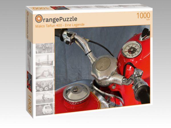 """Puzzle Motiv """"Maico Taifun 400 - Eine Legende"""" - Puzzle-Schachtel zu 1000 Teile Puzzle"""