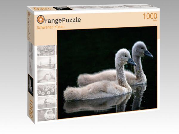 """Puzzle Motiv """"Schwanen Küken"""" - Puzzle-Schachtel zu 1000 Teile Puzzle"""