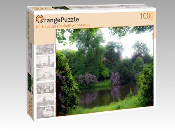 """Puzzle Motiv """"Blick auf das Elisabeth-Anna-Palais"""" - Puzzle-Schachtel zu 1000 Teile Puzzle"""