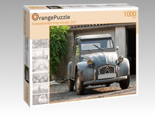 """Puzzle Motiv """"Kultautomobil Ente Citroën 2CV"""""""" - Puzzle-Schachtel zu 1000 Teile Puzzle"""