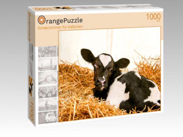 """Puzzle Motiv """"Kinderzimmer für Kälbchen"""" - Puzzle-Schachtel zu 1000 Teile Puzzle"""
