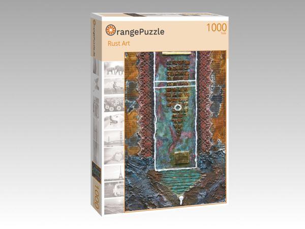 """Puzzle Motiv """"Rust Art"""" - Puzzle-Schachtel zu 1000 Teile Puzzle"""