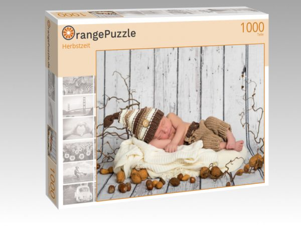 """Puzzle Motiv """"Herbstzeit"""" - Puzzle-Schachtel zu 1000 Teile Puzzle"""