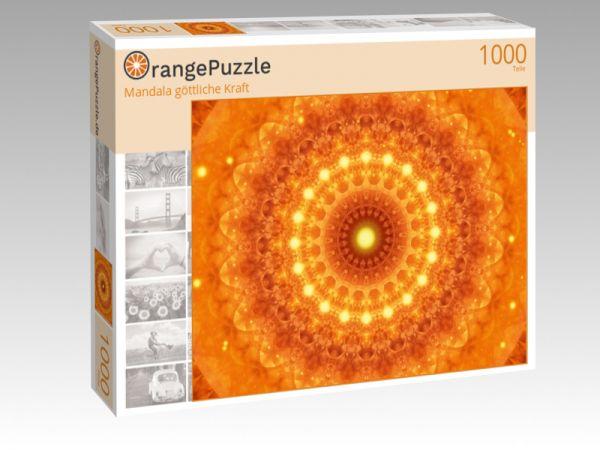 "Puzzle Motiv ""Mandala göttliche Kraft"" - Puzzle-Schachtel zu 1000 Teile Puzzle"