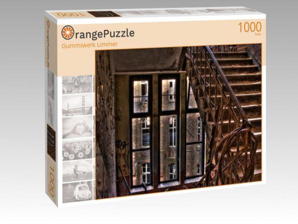 """Puzzle Motiv """"Gummiwerk Limmer"""" - Puzzle-Schachtel zu 1000 Teile Puzzle"""