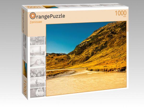 """Puzzle Motiv """"Zeinissee"""" - Puzzle-Schachtel zu 1000 Teile Puzzle"""