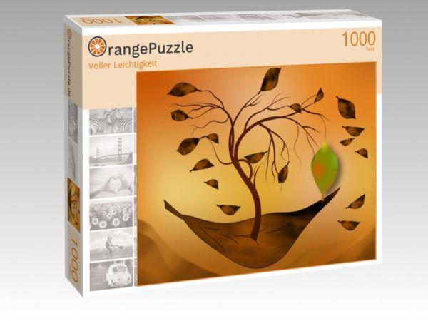 """Puzzle Motiv """"Voller Leichtigkeit"""" - Puzzle-Schachtel zu 1000 Teile Puzzle"""