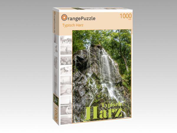 """Puzzle Motiv """"Typisch Harz"""" - Puzzle-Schachtel zu 1000 Teile Puzzle"""