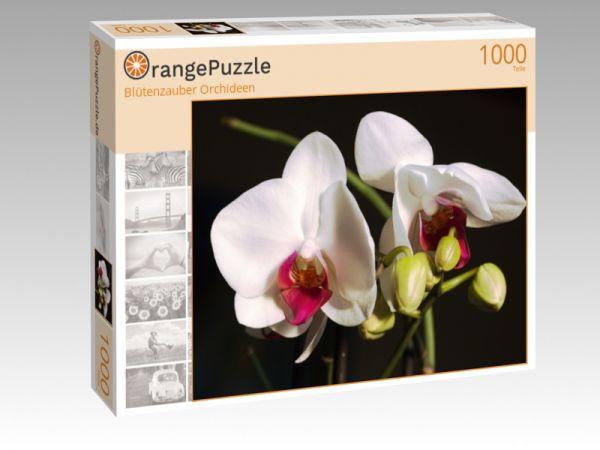 "Puzzle Motiv ""Blütenzauber Orchideen"" - Puzzle-Schachtel zu 1000 Teile Puzzle"