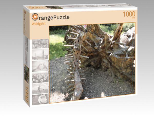 """Puzzle Motiv """"Waldgeist"""" - Puzzle-Schachtel zu 1000 Teile Puzzle"""